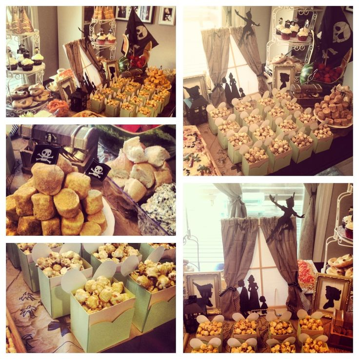 Escape to Neverland Baby Shower, Peterpan, Tinkerbelle, Jake and the Neverland Pirates Party