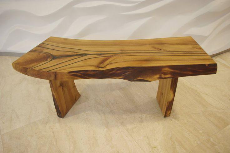 Stolik kawowy Łuk z drewna orzechowego w Art Wood Kawkowo na DaWanda.com