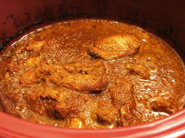 Slow Cooker Chicken Vindaloo by colleengreene, via Flickr