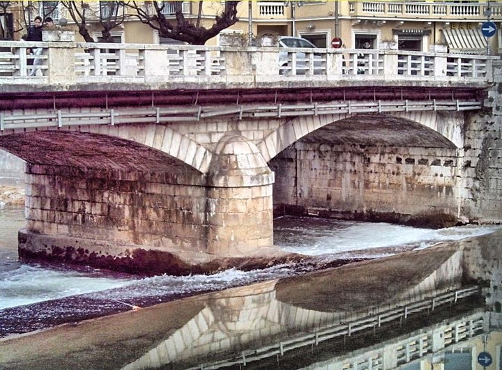 Reflextions under Ponto di Napoli....Sora Italy