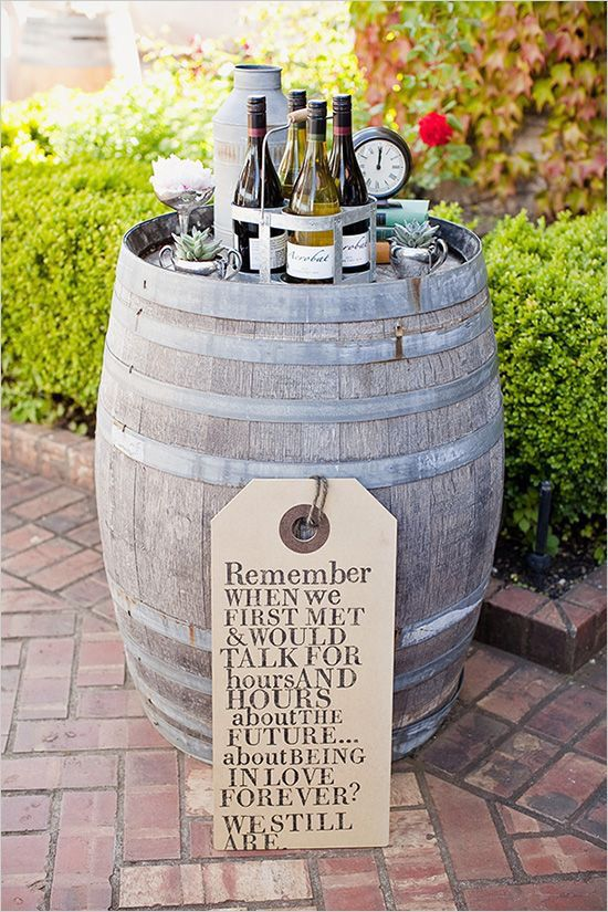 2513 best wedding ideas images on pinterest wedding ideas cocktail station ideas the cutest wedding sign i love wine barrels junglespirit Image collections
