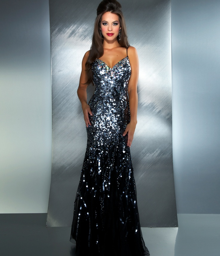 Evening dress black 68
