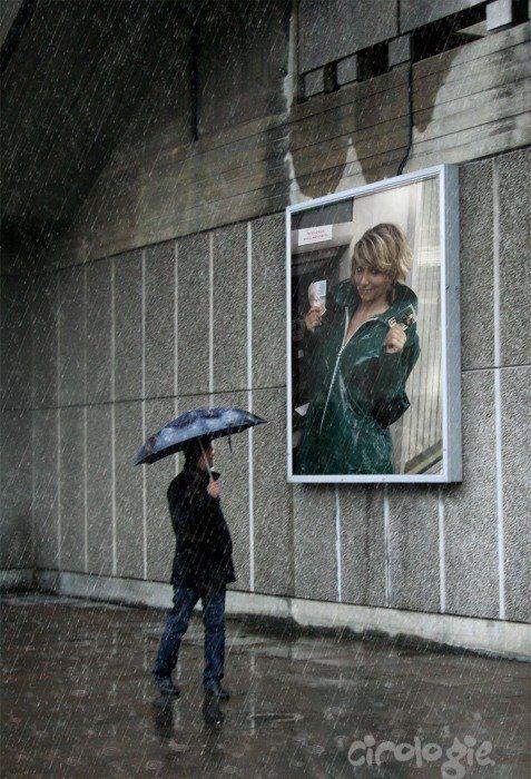 Ilonae, même sous la pluie, notre regard se tourne vers toi.
