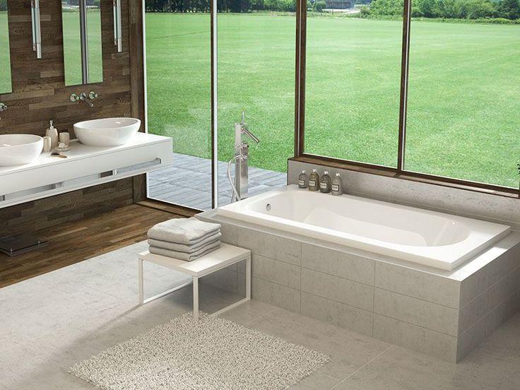 20 best Drop In Baths images on Pinterest | Bathtubs, Soaking tubs ...