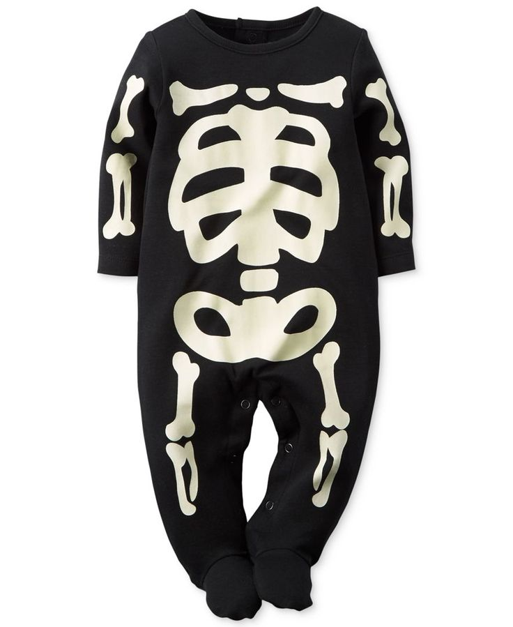 d33b3774d carters skeleton pajamas size 7