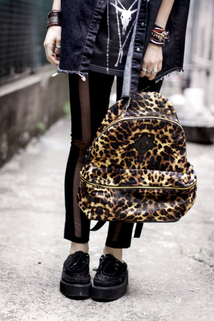 : Style, Leopards Backpacks, Posts, Fab Bags, Clothesaccessoriessho