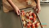 Roasted Garlic Dressing, Mashed Potatoes, and Crostini