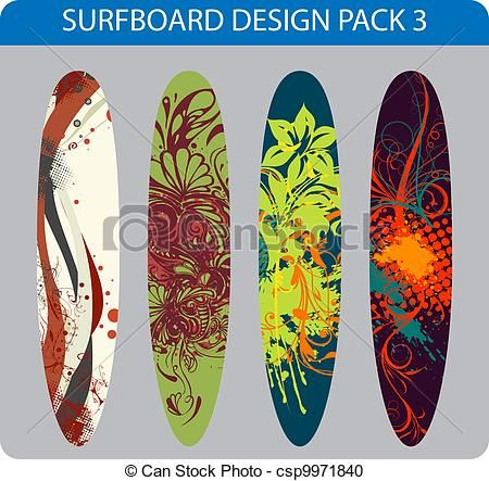 surf boards graphic - Google Search