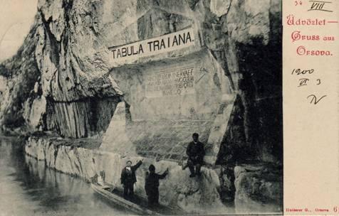Traianus táblája eredeti állapotában