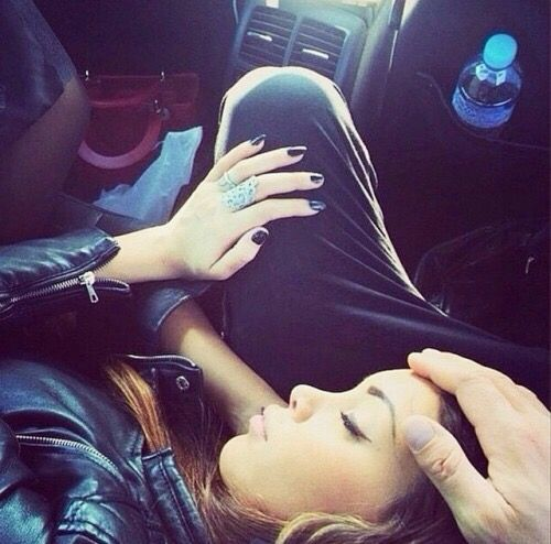 Love this picture..cozy with you're love in the car...❤.nice...L.Loe