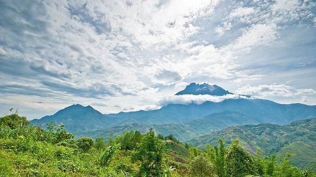 Mount Kinabalu From  Nabalu Town. by cabreney.jm, via Flickr