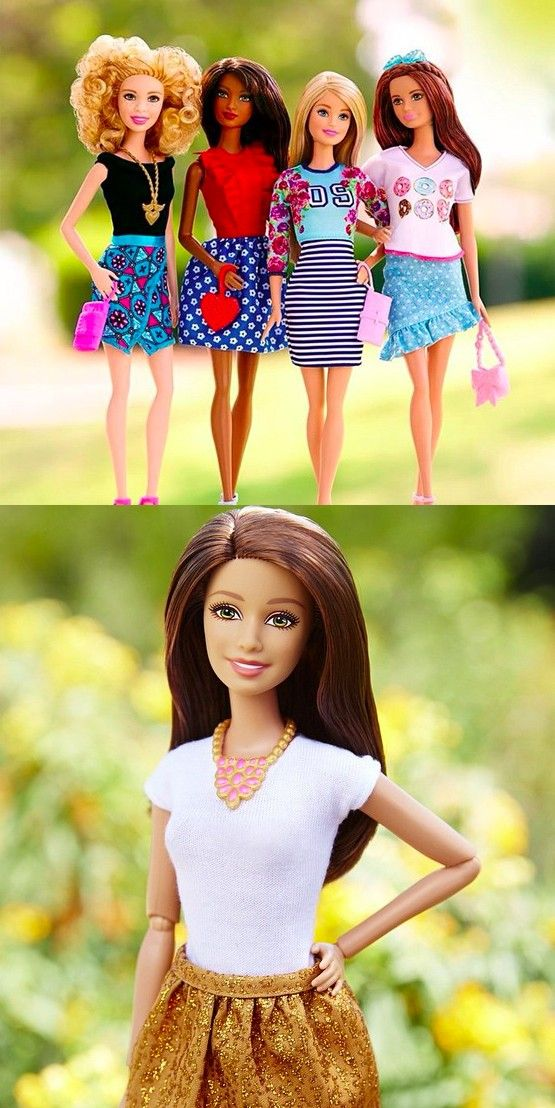 Barbie Fashionistas help girls to rock their unique confidence and Be Super! [ad]