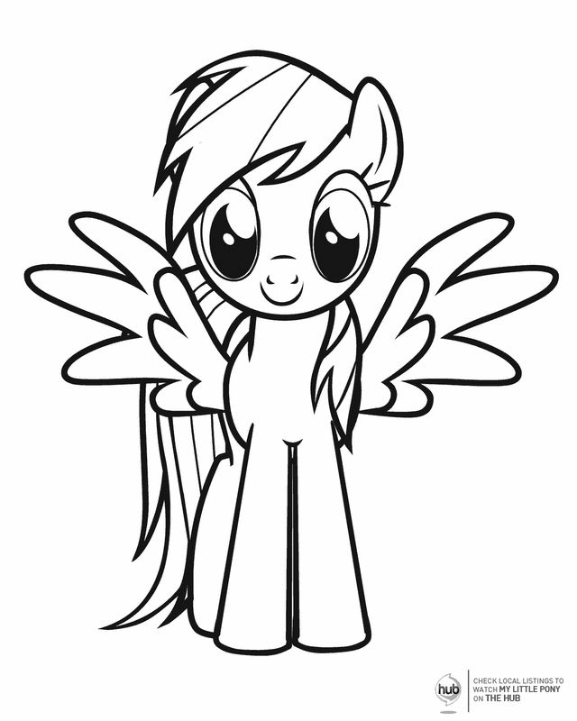 My Little Pony - Free Printable Coloring Pages