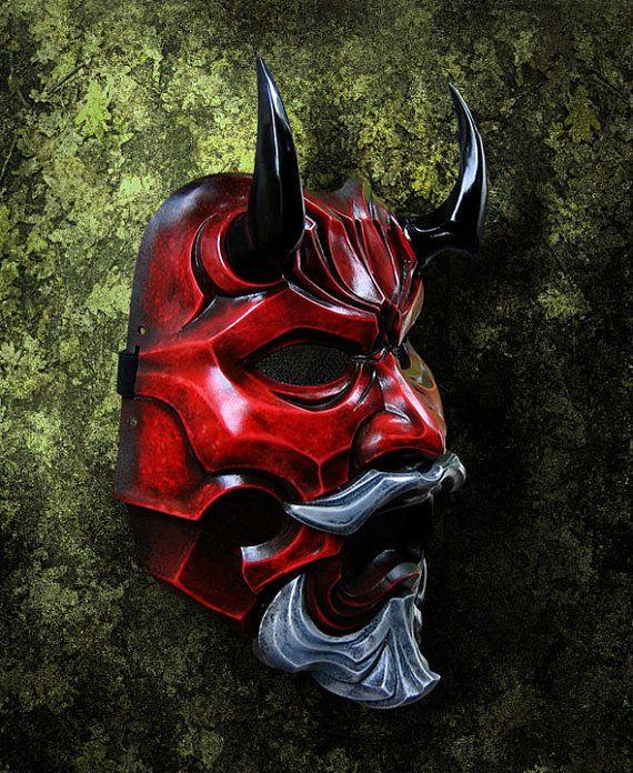 Souvent Les 25 meilleures idées de la catégorie Masque oni sur Pinterest  XD88