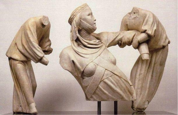 Giovanni Pisano, Monumento sepolcrale a Margherita di Lussemburgo, Palazzo Bianco, Genova