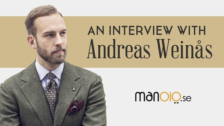 Men's Style Tips from Andreas Weinås - One of the 10 Best Dressed Men