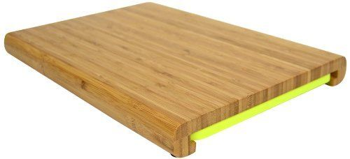 Casabella Chop'n Prep Bamboo Cutting Board with Prep Tray by Casabella Holdings LLC. $26.08. Chop 'n prep bamboo cutting board with prep tray by casabella. Simple clean-up. Measures 14-inches by 10-inches by 1-1/2-inches. Durable bamboo chopping surface. Removable prep tray slides out and features an angled end for easy pour and slide. The Chop 'n Prep™ Bamboo Cutting Board with Prep Tray by Casabella is the all-in-one, perfect solution of cutting boards. Constructed of a ...