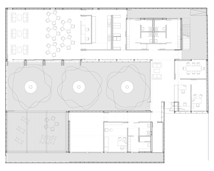 Image 33 of 43 from gallery of Senior Citizen Community Center / F451 Arquitectura. Plan