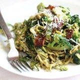 """Pesto Zucchini """"Spaghetti"""""""