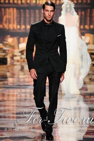 Мужские свадебные костюмы от кутюрье