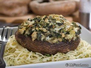 Overstuffed Portabella Mushrooms