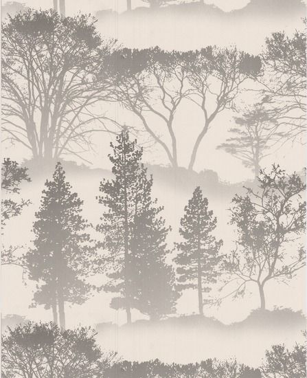 50-207 Graham & Brown Mirage White,Grey Motif Wallpaper | Graham & Brown