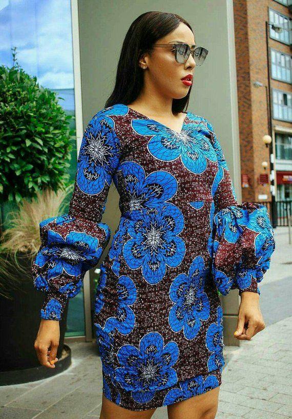 African Clothing Ankara Dress African Print In 2019