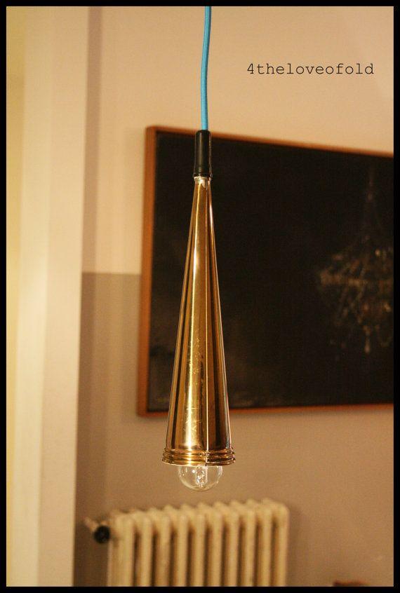 Lampadario Trombetta.Ceiling lamp-Trumpet