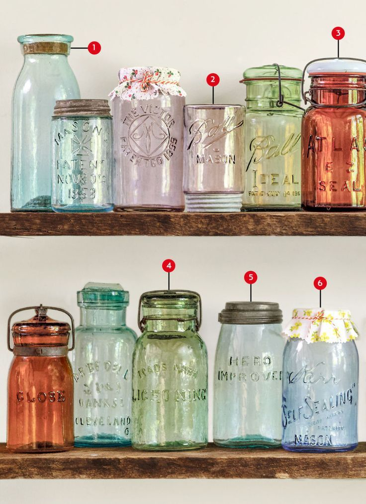 The Collectoru0027s Guide to Canning Jars