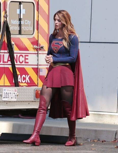 Why Supergirl Star Melissa Benoist Hopes to Talk Less About Gender ...
