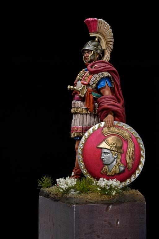 """ROMAN CONSUL 54MM """"ALEXANDROS MODELS"""" sculptured by ADRIANO LARUCCIA Painted by Louis Dorio"""