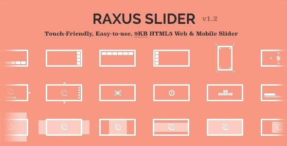 Raxus Slider / Easy-to-Use Advanced HTML5 Slider - Sliders
