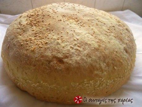 Ψωμί χωριάτικο μερακλίδικο....100%