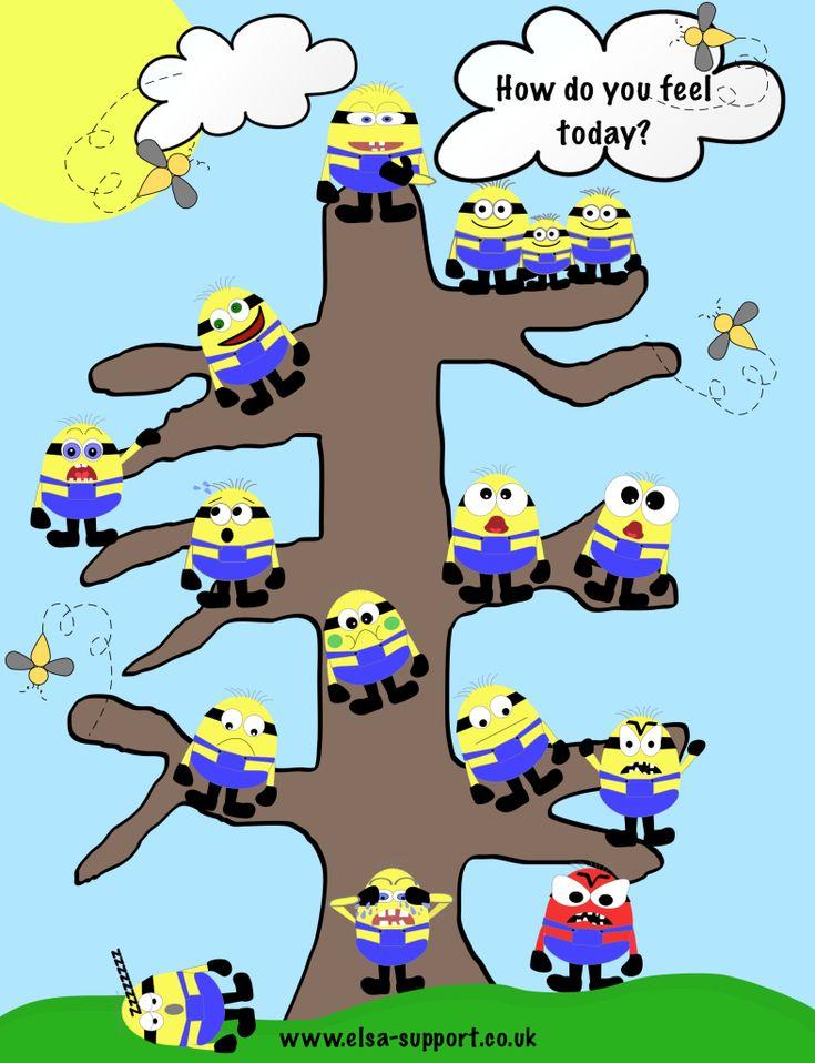 History Classroom Decor ~ Minion tree poster emotions pinterest