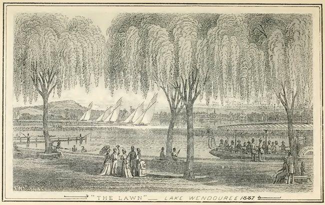 Lake Wendouree, 1887