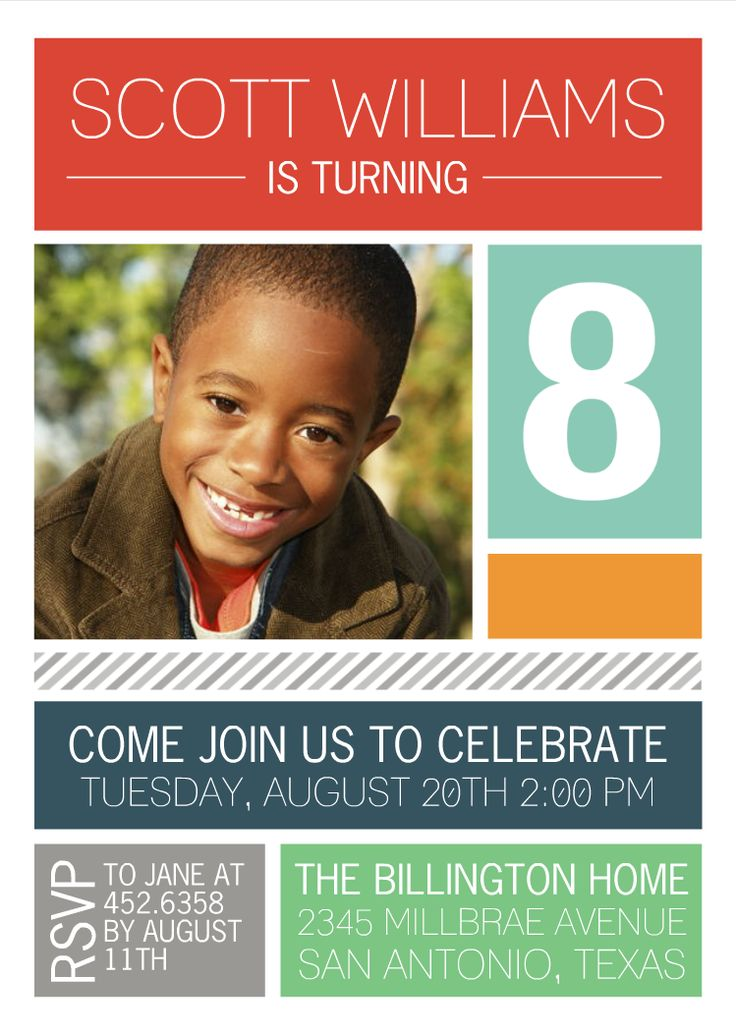 15 best Invitations images on Pinterest Birthday invitations - best of invitation card birthday party