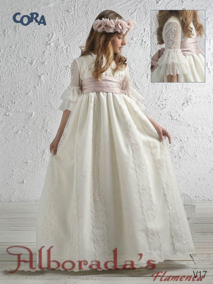 Colección de vestidos de comunión 2017, Corade Niña