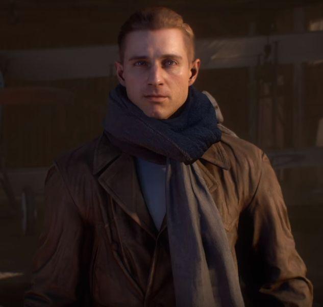 Clyde Blackburn from Battlefield 1