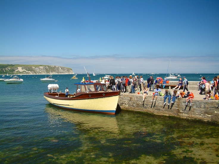 Greek Islands? No it's crystal clear waters at Swanage Pier ...