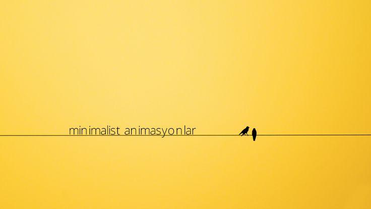 Minimalist Animasyonlar