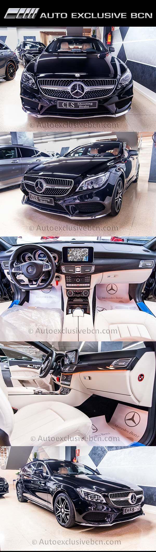 Mercedes CLS 350d | Shooting Brake | AMG PLUS | Auto Exclusive BCN | http://autoexclusivebcn.com