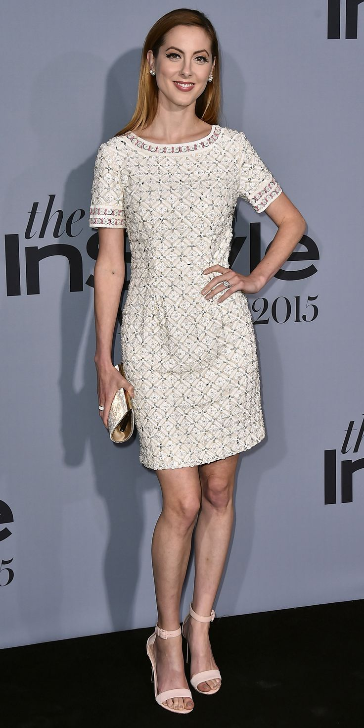 See the Stars on the 2015 InStyle Awards Red Carpet - Eva Amurri Martino  - from InStyle.com