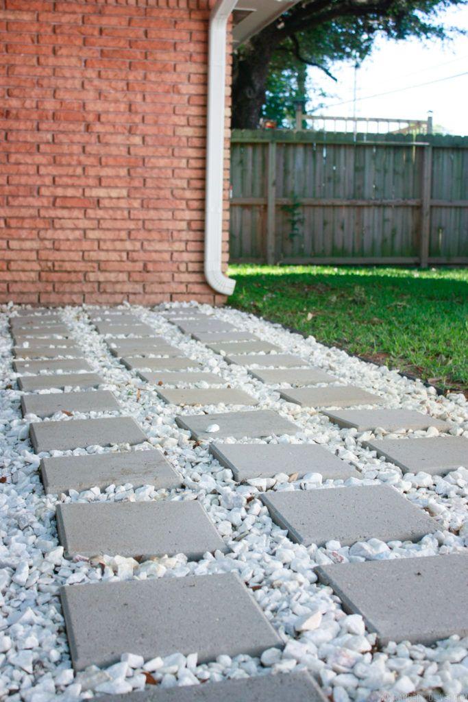 Backyard Update: How to Lay Patio Pavers | Backyard
