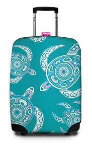 SUPPORT THE TURTLE Luggage Cover