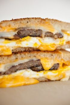 Old-Fashioned Egg Sandwich.  Oh how I love these with either bacon, sausage, pepperoni, or, my favorite Taylor pork Roll.