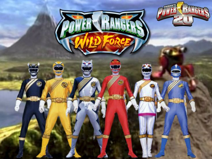 Power Rangers 20- Wild Force by ThePeoplesLima on DeviantArt