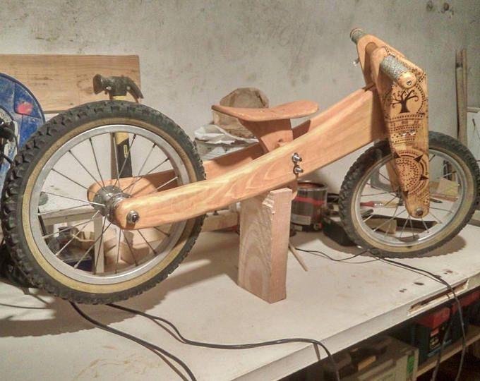 Draisienne en bois