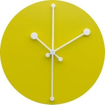 Alessi Dotty Clock Gul