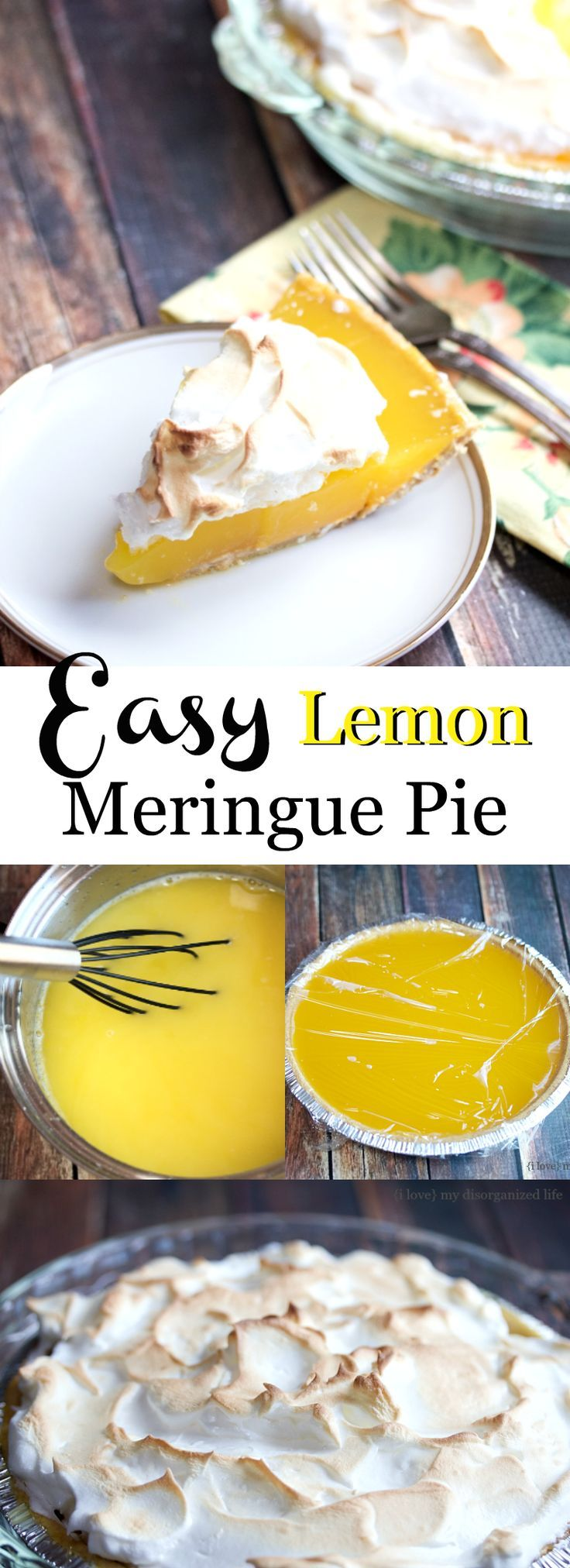 This easy lemon meringue pie recipe is super refreshing and loaded with rich lemon flavor on a slightly sweet graham cracker crust!