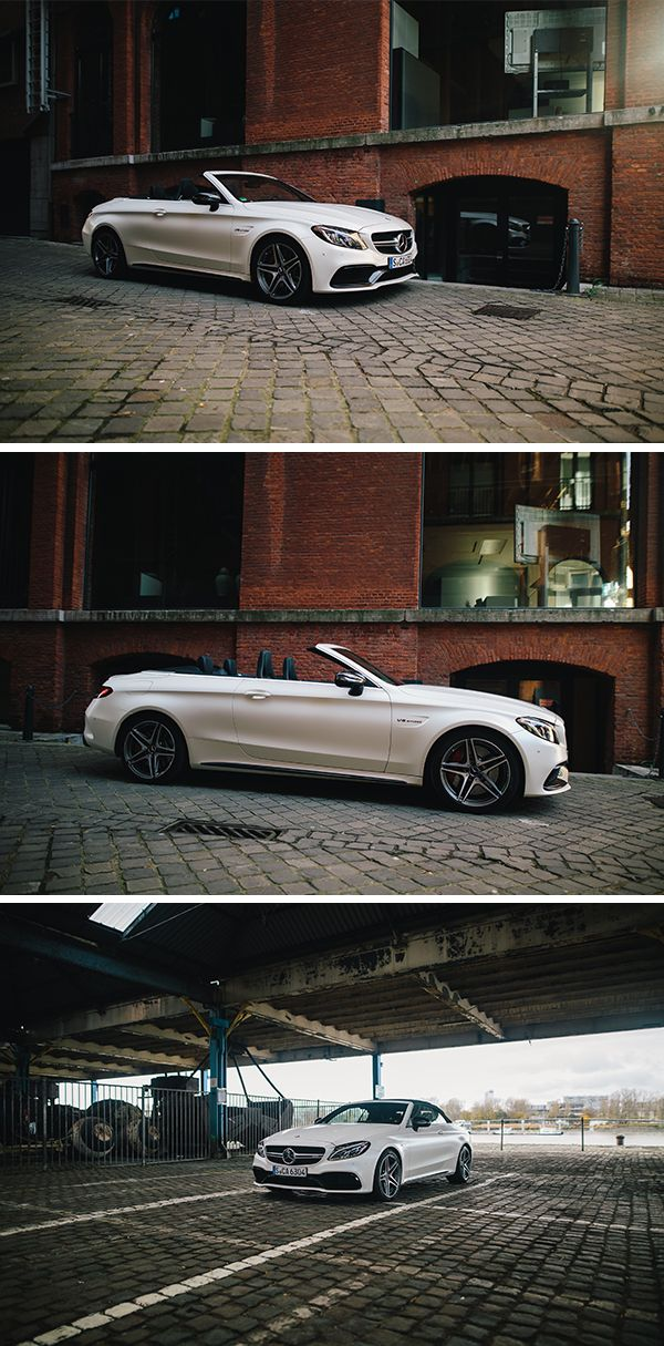 High-quality details and a youthful touch: Meet the Mercedes-AMG C 63 S Cabriolet. Photos by Florian Roser (www.florianroser.com) for #MBsocialcar [Mercedes-AMG C 63 S | Fuel consumption combined: 11.9 l/100km | combined CO₂ emissions: 278 g/km | http://mb4.me/efficiency_statement]